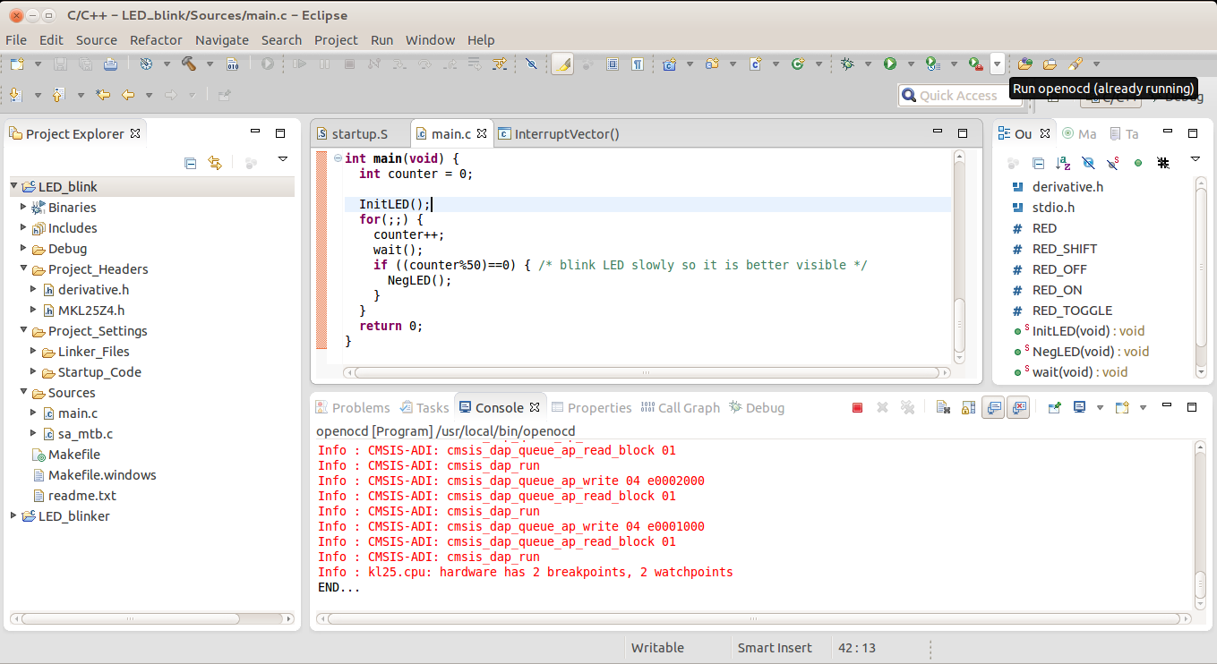 Setting up Linux opensource build and debug tools for